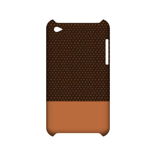 Little Circle Dots Nectarine - Geeks Designer Line Pantone Color Series Hard Case for Apple iPod Touch 4