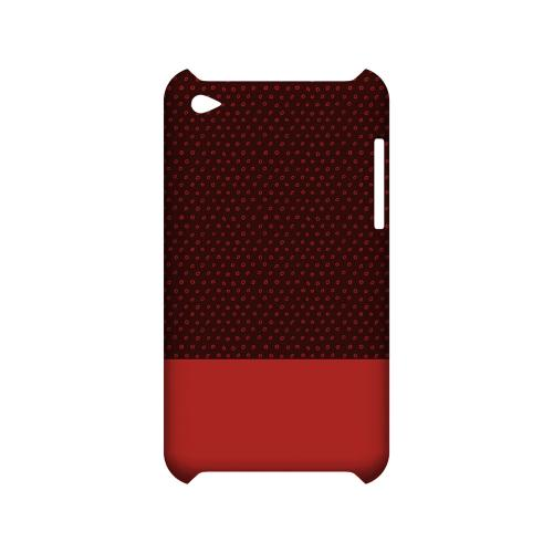 Little Circle Dots Poppy Red - Geeks Designer Line Pantone Color Series Matte Case for Samsung Galaxy S3