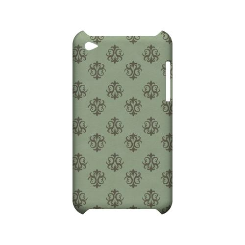 Ornamental Grayed Jade - Geeks Designer Line Pantone Color Series Hard Case for Apple iPod Touch 4
