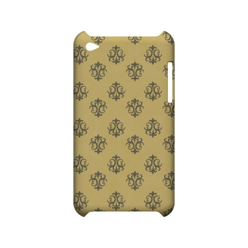 Ornamental Lemon Zest - Geeks Designer Line Pantone Color Series Hard Case for Apple iPod Touch 4