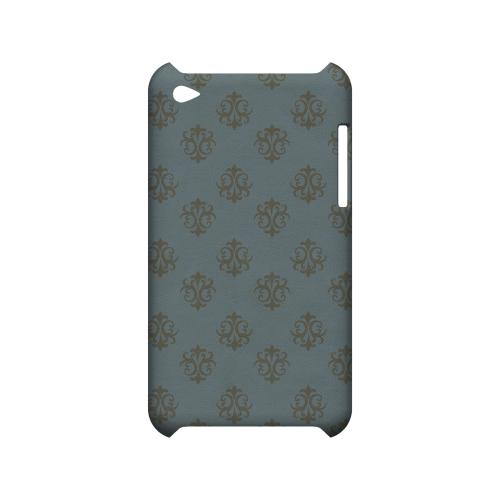 Ornamental Monaco Blue - Geeks Designer Line Pantone Color Series Hard Case for Apple iPod Touch 4