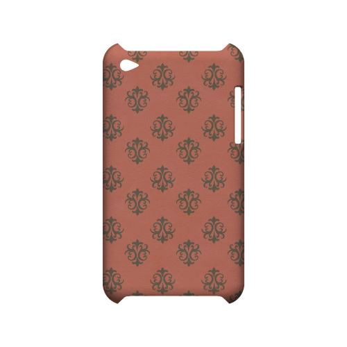 Ornamental Poppy Red - Geeks Designer Line Pantone Color Series Hard Case for Apple iPod Touch 4