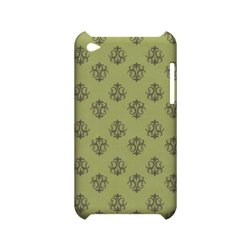 Ornamental Tender Shoots - Geeks Designer Line Pantone Color Series Hard Case for Apple iPod Touch 4