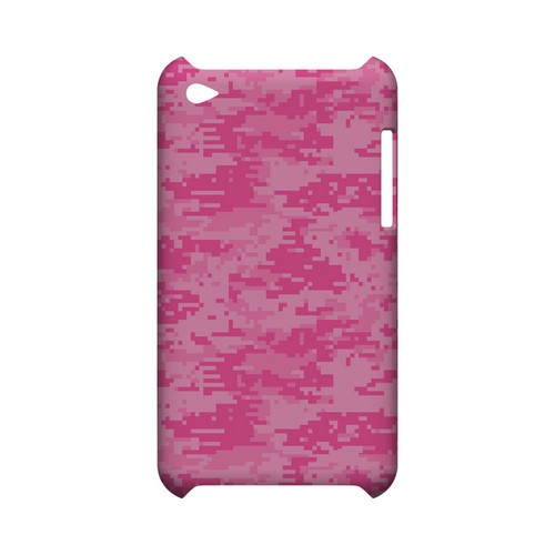 Pink Digital Camouflage - Geeks Designer Line Slim Back Cover for Apple iPod Touch 4