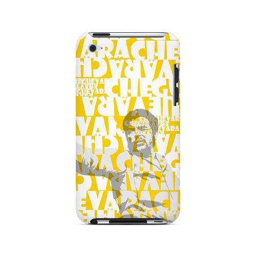 Che Guevara Discurso Faded Yellow - Geeks Designer Line Revolutionary Series Hard Case for Apple iPod Touch 4