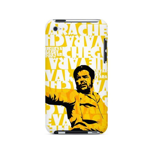 Che Guevara Discurso Pure Yellow - Geeks Designer Line Revolutionary Series Hard Case for Apple iPod Touch 4
