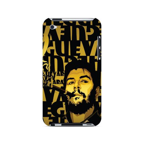 Che Guevara Smoke Gold - Geeks Designer Line Revolutionary Series Hard Case for Apple iPod Touch 4