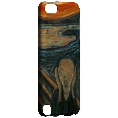 Geeks Designer Line (GDL) Slim Hard Case for Apple iPod Touch 5 - Edward Munch The Scream