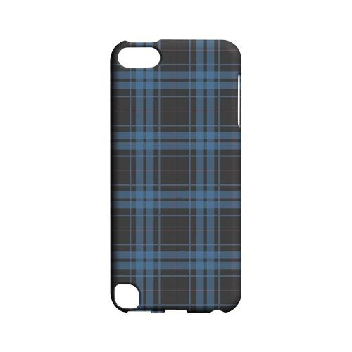 Blue/ Gray/ Pink Plaid - Geeks Designer Line Checker Series Hard Case for Apple iPod Touch 5