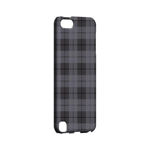 Grayish Plaid - Geeks Designer Line Checker Series Hard Case for Apple iPod Touch 5