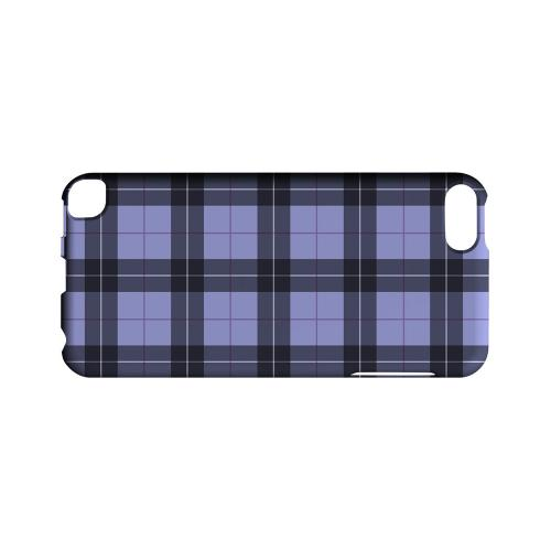Scottish-Like Plaid in Purple - Geeks Designer Line Checker Series Hard Case for Apple iPod Touch 5