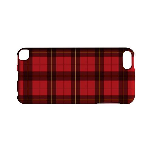 Scottish-Like Plaid in Red - Geeks Designer Line Checker Series Hard Case for Apple iPod Touch 5