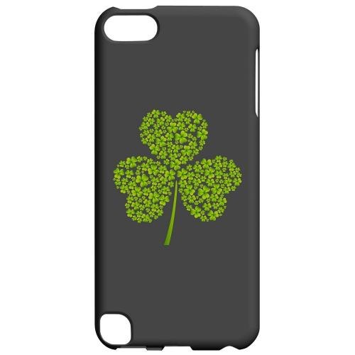 Clover Burst - Geeks Designer Line Holiday Series Hard Case for Apple iPod Touch 5