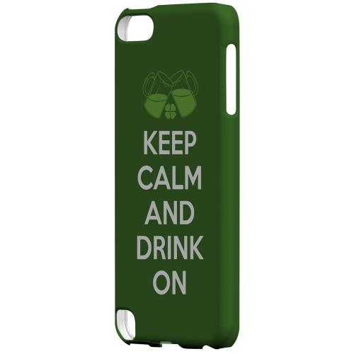 Drink On - Geeks Designer Line Holiday Series Hard Case for Apple iPod Touch 5