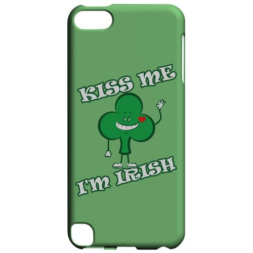Kiss Me - Geeks Designer Line Holiday Series Hard Case for Apple iPod Touch 5