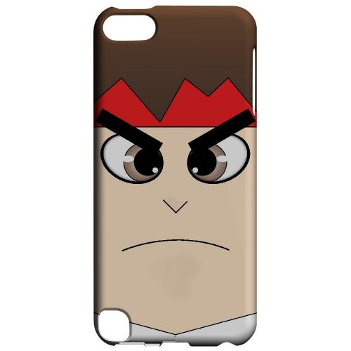 Hadoryu - Geeks Designer Line Toon Series Hard Case for Apple iPod Touch 5