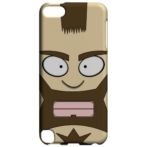 Zman - Geeks Designer Line Toon Series Hard Case for Apple iPod Touch 5