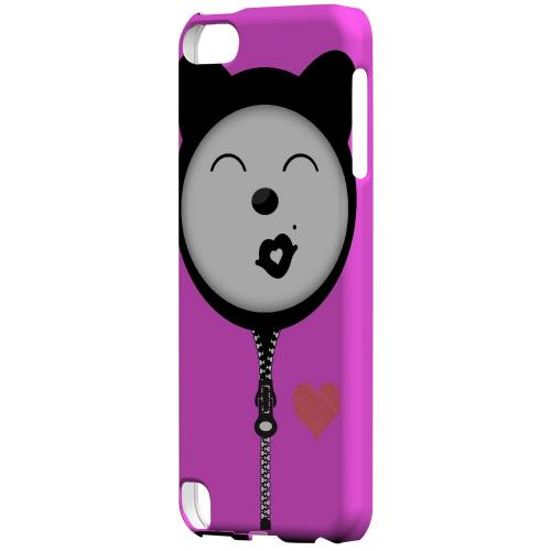 Kissycat - Geeks Designer Line Hoodie Kitty Series Hard Case for Apple iPod Touch 5