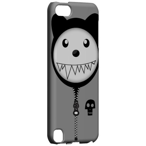 Grimmycat - Geeks Designer Line Hoodie Kitty Series Hard Case for Apple iPod Touch 5