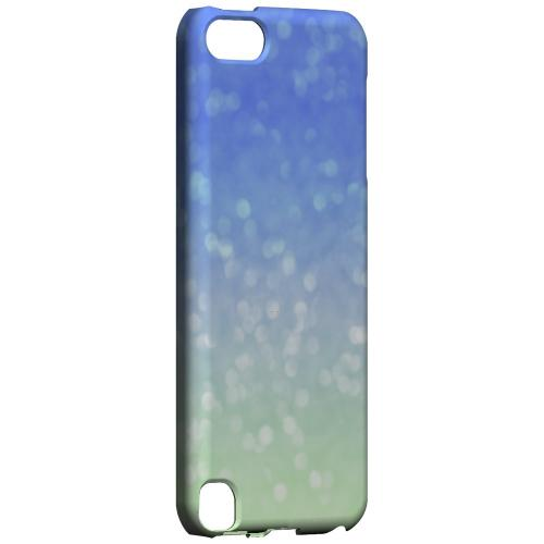 Menthe Blue - Geeks Designer Line Ombre Series Hard Case for Apple iPod Touch 5
