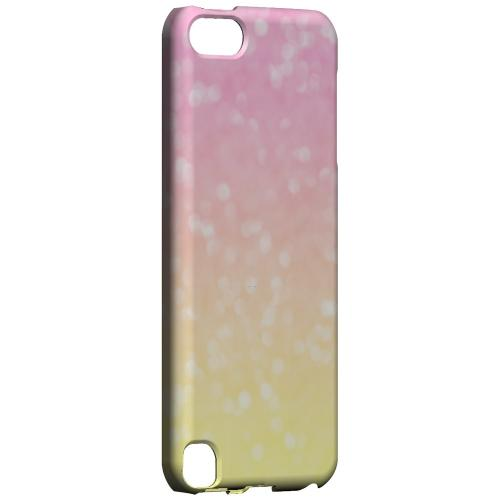 Bubble Gum Squeeze - Geeks Designer Line Ombre Series Hard Case for Apple iPod Touch 5