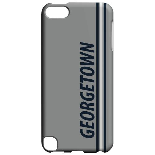 Georgetown - Geeks Designer Line March Madness Series Hard Case for Apple iPod Touch 5