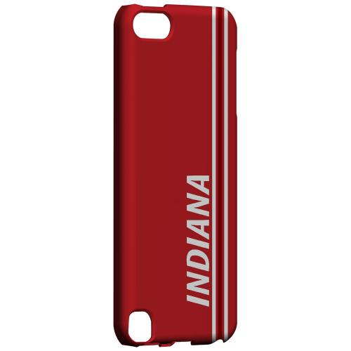 Indiana - Geeks Designer Line March Madness Series Hard Case for Apple iPod Touch 5