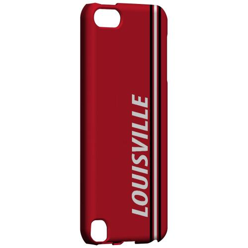 Louisville - Geeks Designer Line March Madness Series Hard Case for Apple iPod Touch 5