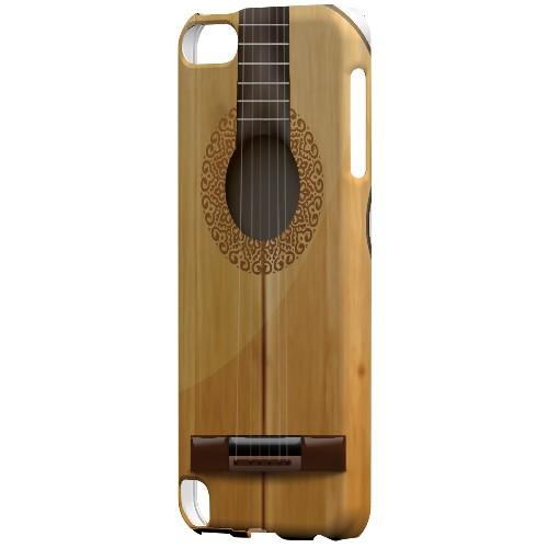 Acoustic Guitar - Geeks Designer Line Music Series Hard Case for Apple iPod Touch 5