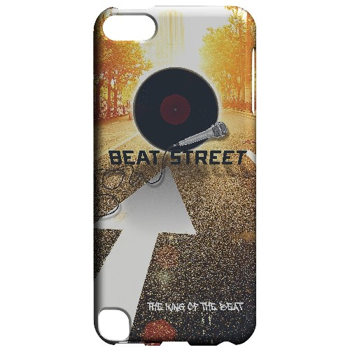 Beatstreet - Geeks Designer Line Music Series Hard Case for Apple iPod Touch 5