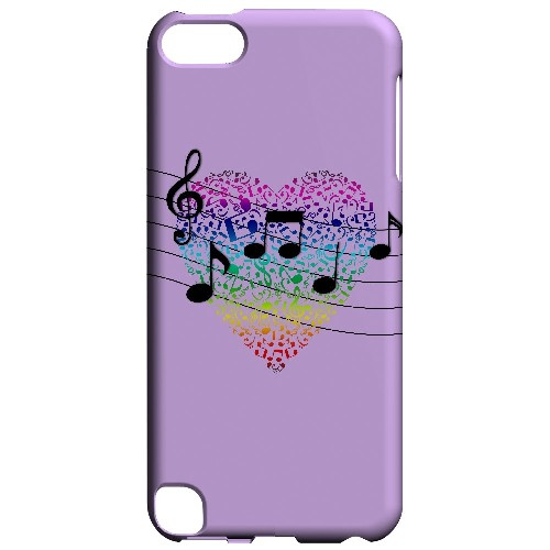 Earful of Color - Geeks Designer Line Music Series Hard Case for Apple iPod Touch 5