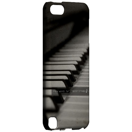 Music Speaks - Geeks Designer Line Music Series Hard Case for Apple iPod Touch 5