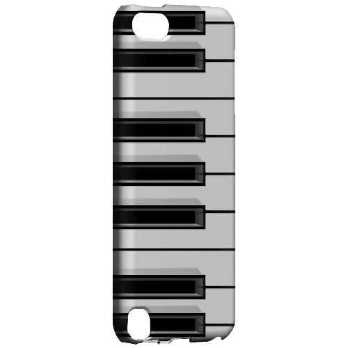 Piano Keys - Geeks Designer Line Music Series Hard Case for Apple iPod Touch 5