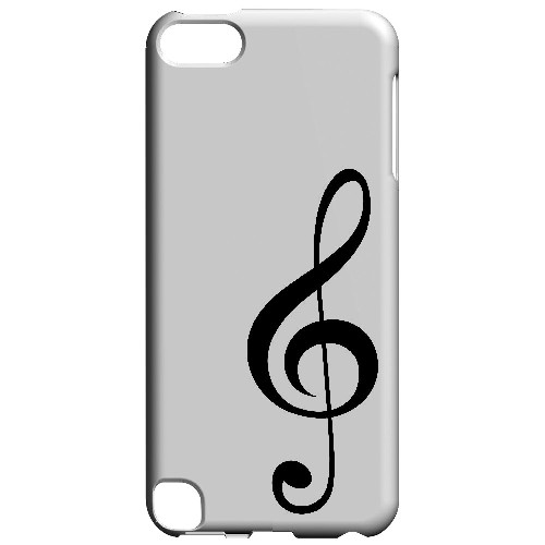 Simple Treble Clef - Geeks Designer Line Music Series Hard Case for Apple iPod Touch 5