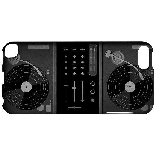 Turntabliss - Geeks Designer Line Music Series Hard Case for Apple iPod Touch 5