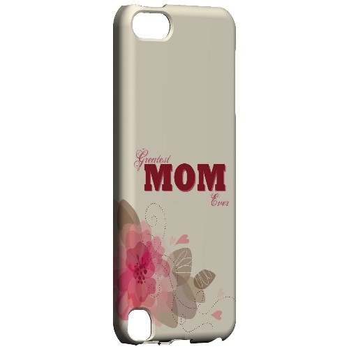 Greatest Mom Ever - Geeks Designer Line Mom Series Hard Case for Apple iPod Touch 5