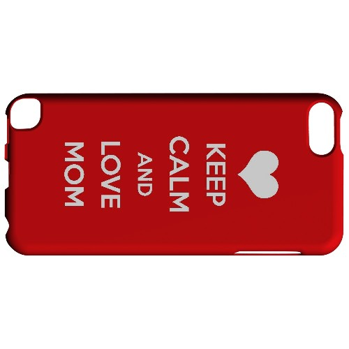 Love Mom - Geeks Designer Line Mom Series Hard Case for Apple iPod Touch 5