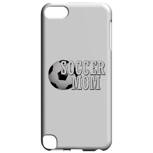 Soccer Mom - Geeks Designer Line Mom Series Hard Case for Apple iPod Touch 5