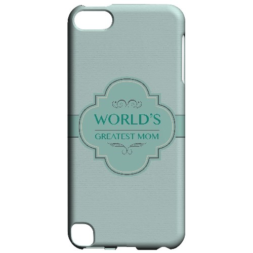 Vintage World's Greatest Mom - Geeks Designer Line Mom Series Hard Case for Apple iPod Touch 5