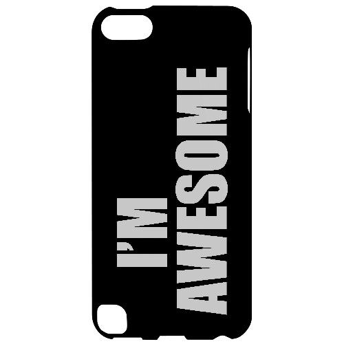 Awesome - Geeks Designer Line Humor Series Hard Case for Apple iPod Touch 5