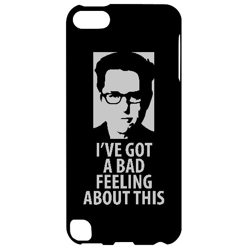 Bad Feeling - Geeks Designer Line Humor Series Hard Case for Apple iPod Touch 5