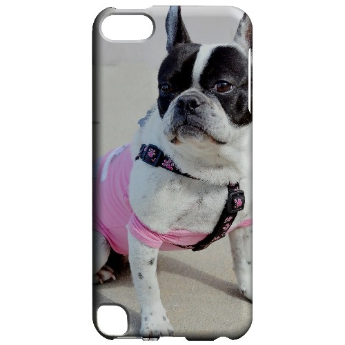 English Bulldog Mix - Geeks Designer Line Puppy Series Hard Case for Apple iPod Touch 5