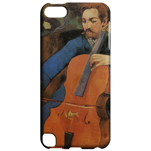 The Cellist by Paul Gauguin - Geeks Designer Line Artist Series Hard Case for Apple iPod Touch 5