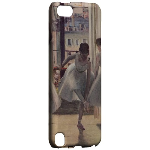 Three Dancers in an Exercise Hall by Edgar Degas - Geeks Designer Line Artist Series Hard Case for Apple iPod Touch 5
