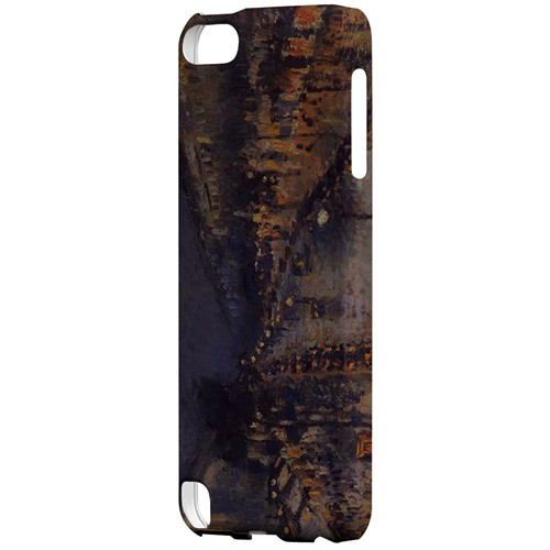 Boulevard Montmarte at Night by Camille Pisarro - Geeks Designer Line Artist Series Hard Case for Apple iPod Touch 5