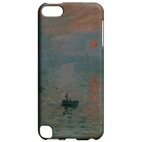 Impression Sunrise by Claude Monet - Geeks Designer Line Artist Series Hard Case for Apple iPod Touch 5
