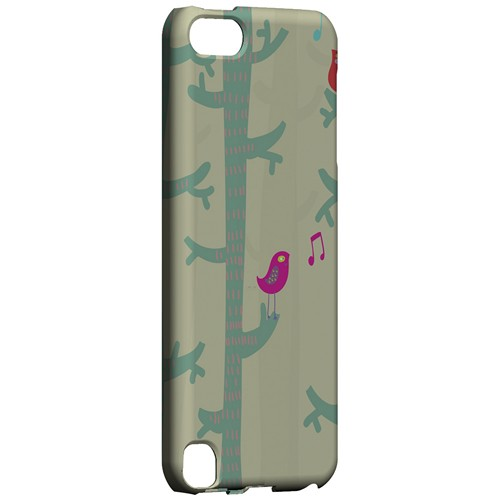 Spring Sing Forest - Geeks Designer Line Spring Series Hard Case for Apple iPod Touch 5