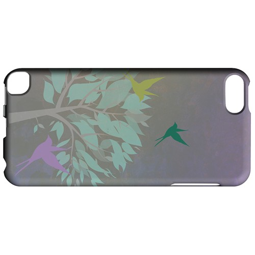 Swallow Flight - Geeks Designer Line Spring Series Hard Case for Apple iPod Touch 5