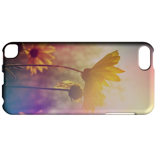 Colorful Daisy Bloom - Geeks Designer Line Spring Series Hard Case for Apple iPod Touch 5