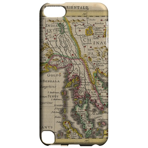 Indie Orientale - Geeks Designer Line Map Series Hard Case for Apple iPod Touch 5